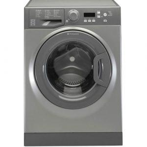 Hotpoint, 7kg, 1400 spin, Washing Machine I Graphite-0