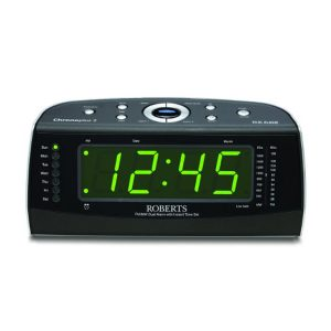 Roberts Chronoplus2 FM/MW Dual Alarm Clock with Instant Time Set-0