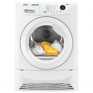 Zanussi A+ Rated Condenser Dryer-0
