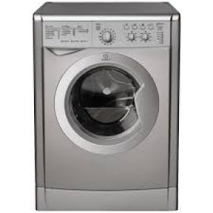 Indesit Washer Dryer Silver 6kg wash, 5kg Dry 1200-0