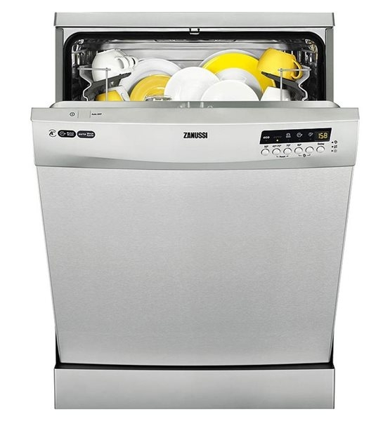 Zanussi 13 Place Freestanding Dishwasher -S/Steel-0