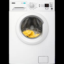 Zanussi 8kg 1200 Spin Lindo 100 Washing Machine I White-0