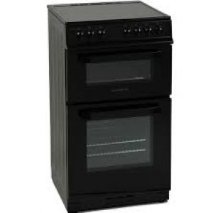 Nordmende 50cm Freestanding Electric Cooker I Black-0