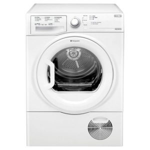 Hotpoint B Rated Condenser Dryer White-0
