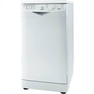 Indesit 10 Place Freestanding Slimline Dishwasher I White-0