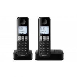 Philips Cordless Duo Phone -0
