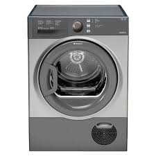 Hotpoint B Rated Condenser Dryer Graphite-0