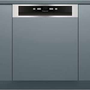 Hotpoint Semi-Integrated 13 Place Dishwasher Stainless Steel-0