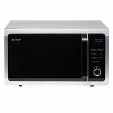 Sharp 25L 900W Freestanding Microwave I Silver-0