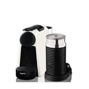 Magimix Nespresso Essenza Mini with Aeroccino White-0