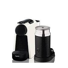 Magimix Nespresso Essenza Mini with Aeroccino White-0