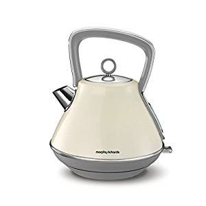 Morphy Richards Evoke Pyramid Kettle - Cream-0