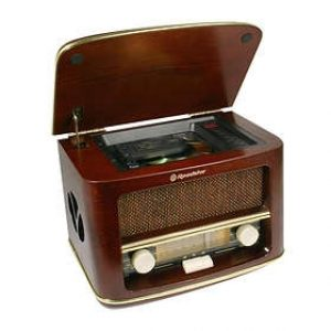 Roadstar Retro Radio-0