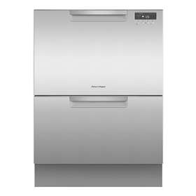 Fisher & Paykel 60cm Integrated Double Drawer Dishwasher - Stainless Steel -0
