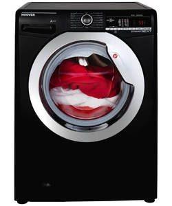 Hoover 9KG 1400 Spin Washing Machine I Black -0