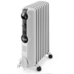 Delonghi TRRS0920, Oil Filled Radiator In White-0