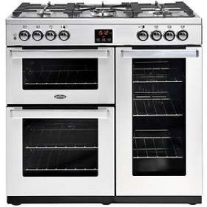 Belling 90cm Cookcentre Dual Fuel Range Cooker-0