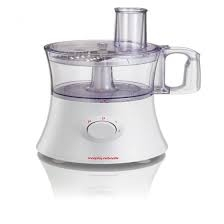 Morphy Richards, 500 Watts, Food Processor, White/Silver Trim-0