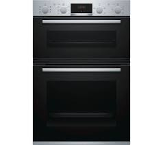 Bosch Serie 4 Built-In Electric Double Oven I Stainless Steel -0