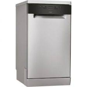 Whirlpool 45cm SupremeClean Freestanding Slimline Dishwasher I Stainless Steel-0