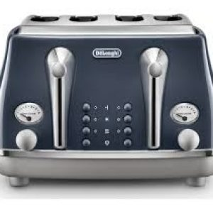 DELONGHI Icona Capitals 4-Slice Toaster - Blue-0