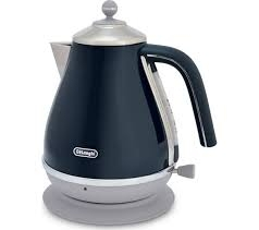 DELONGHI Icona Capitals Jug Kettle - Blue-0