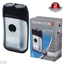 Remington DualTrack Travel Rotary Electric Shaver - Stainless Steel-0