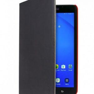 Gecko Samsung Galaxy Tab A 10.1 Easy Click Cover - Black/red-0