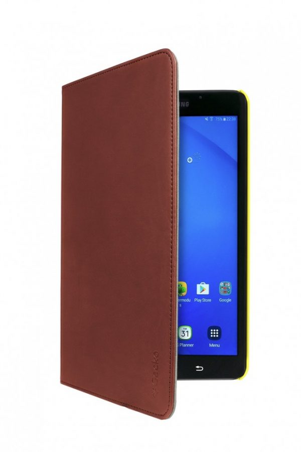 Gecko Samsung Galaxy Tab A 10.1 Easy Click Cover - Brown/Yellow-16810