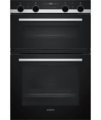 Siemens iQ500 Built-in double oven - Black-0