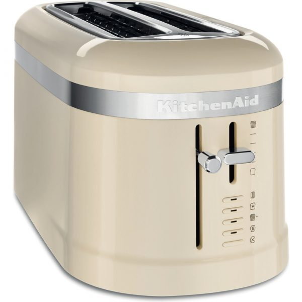 KitchenAid 4 slice toaster - Cream-0