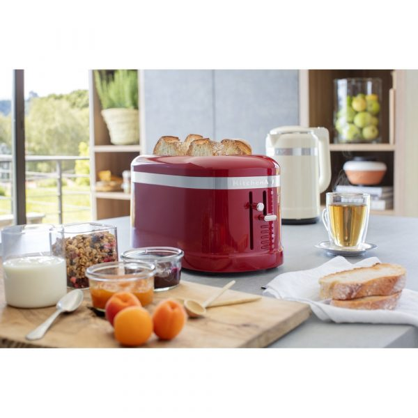 KitchenAid 4 slice toaster - Empire Red-17097