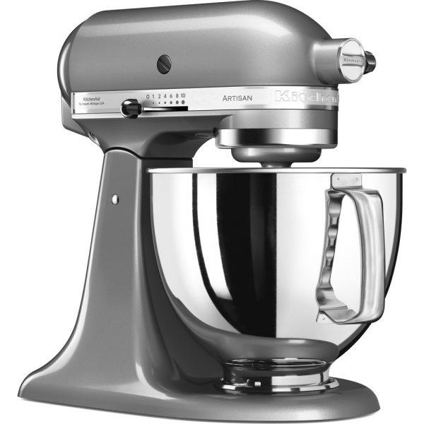 KitchenAid - Artisan 4.8L Stand mixer Silver-17072
