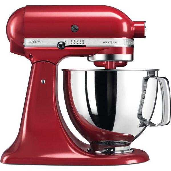 KitchenAid - Artisan 4.8L Stand mixer - Red-0