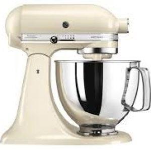 KitchenAid Artisan 4.8L Stand Mixer - Cream-0