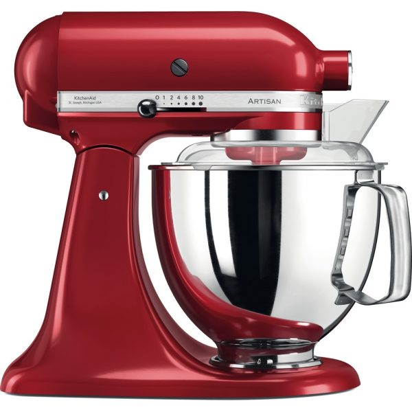 KitchenAid Artisan 4.8L Stand Mixer - Red-0