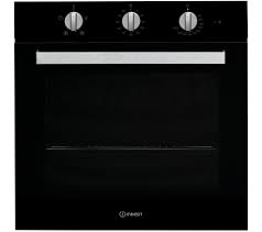 Indesit Single Built in Electric oven - Black-0