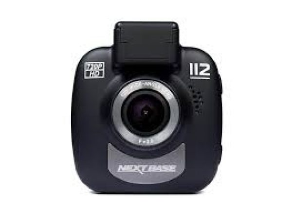 Nextbase 112 In-Car Dash Camera - Black -0