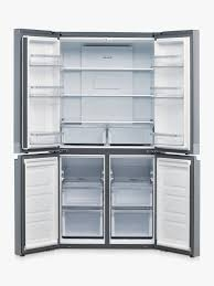 HOTPOINT 4 Door American No Fost Fridge Freezer - Stainless Steel-17175