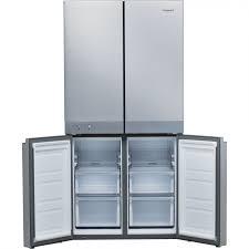 HOTPOINT 4 Door American No Fost Fridge Freezer - Stainless Steel-17173