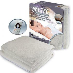 Imetec Single Electric Mattress Cover-0