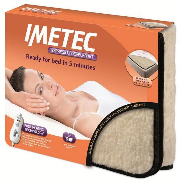 IMETEC Double fleece electric Blanket-0