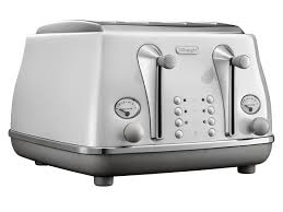 Delonghi Icona Capitals White 4 Slice Toaster -0